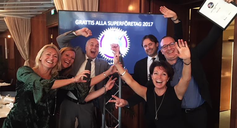 Invici_utmärkelsen_Superföretag_2017