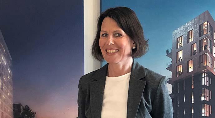 Jeanette, ny kollega på Invici i Malmö